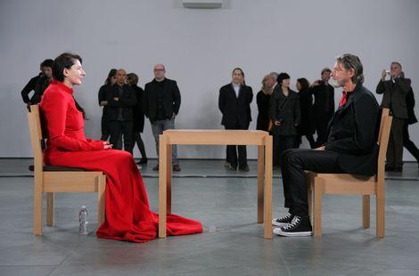 Лекція присвячена мистецтву Марини Абрамович
