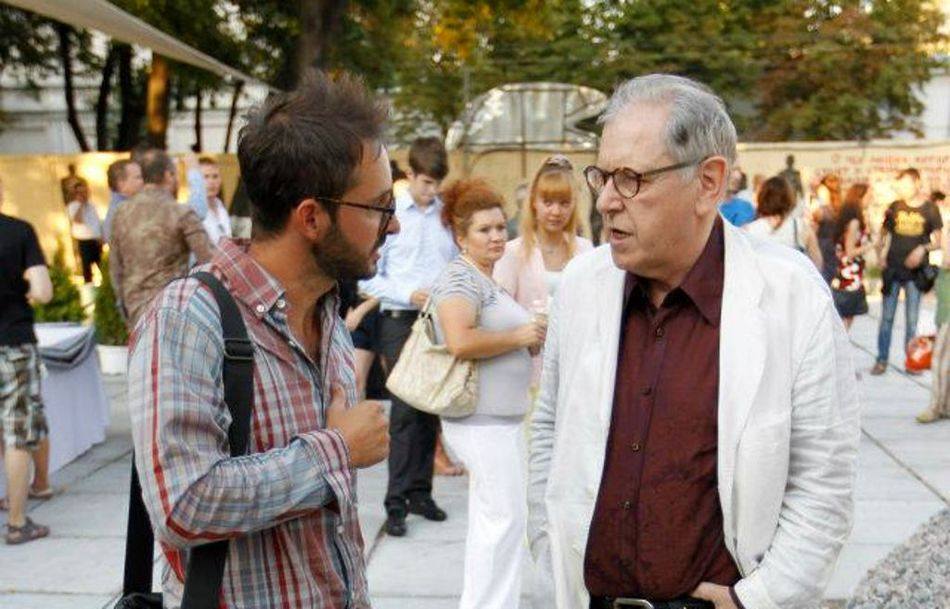 Микола Малишко та Андрій Сагайдаковський – лауреати Премії Відкриття ARSENALE 2012