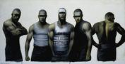 Володимир Костирко, We are the firm, 2009, полотно, олія