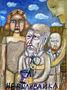 Олександр Найден, Не виливайка, 2009, папір, гуаш, 85х62