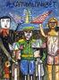 Олександр Найден, І корабель пливе, 2009, папір, гуаш, 85х62