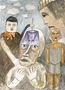 Олександр Найден, 2009, папір, гуаш, 85х62