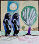 Дмитро Кузовкін, Дерева треба підживлювати природними добривами, 2008, папір, мішана техніка, 35х30