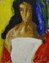 Олександр Бабак, Тамара, 2004, полотно, олія, 145х115