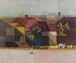 Провінційний пейзаж. Вечір, 1997, полотно, олія, 71х85