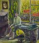 Ірина Гаршина, Бунін, із циклу 1917, 2008, полотно, олія, 80х70