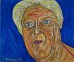 Олександр Луценко-Бабан, Марія – погляд в минуле, 2009, полотно, олія, 46х55