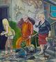 Ірина Гаршина, Цой жив, із циклу Порядні люди, 2008, полотно, олія, 80х70