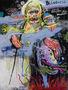 Blindness, 2014, полотно, акрил, спрей, маркер