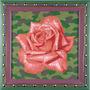 Троянда, 2005, полотно, олія, 32х32