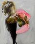 Фонтан, 2008, папір, олія, маркер, 100х80