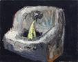 Фонтан, 2007, полотно, олія, 20х25