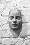 Фрагмент обличчя, 1995-2005, необпалена глина
