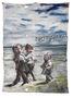 Прогулянка, 2007, килимок, олія