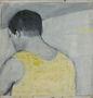 Німий, 1996, полотно, олія