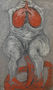 Метаморфоза 2, із серії Коли люди були квітами, 2003, полотно, олія, 101х60