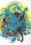 Квіт I, 2014, папір, високий друк