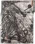 Павло Маков, Дотик №2, з циклу Відбитки пальців, 2013—2014, папір, малюнок, багаторазове інтагліо, акрил