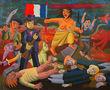 Свобода на барикадах, 2013, полотно, олія