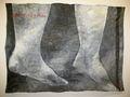 Ноги що стоять у рiчцi, 2012, килимок, олiя
