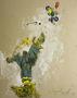 Майдан, 2009, картон, олія, 100х80