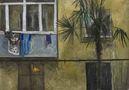 Балкон, 2010, полотно, олія, 100х144,5