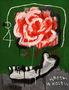 Квіти та кістки, 2011, полотно, акрил, спрей