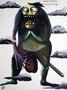 """Олександр Ляпін, Minister Osviten, із серії """"Кабінет міністрів"""", 2010, полотно, олівець, акрил, акриловий лак, олія"""