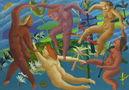 Дмитро Молдованов, Танок по малюнку Анрі, 2009, полотно, олія
