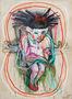 Олександр Король, Скакалка, 2011, полотно, мішана техніка, 150х110