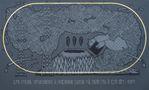 Бурю пускають чорнокнижники, їх найважнішою задачею єсть робити град та вести вітри і хмари, 2014, полотно, акрил, вишивка, 120х200