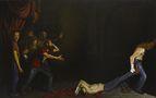 Смерть Гектора, 2012, полотно, олія