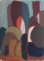 Умань. Величні дерева, 49х35, картон, олія, 1964