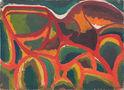 Умань. Горіння зелені, 35х49, картон, олія, 1964