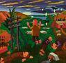 Гефсиманский сад 2020, полотно, олія