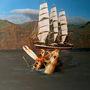 Микита Кравцов, Випадок на риболовлі (диптих, права частина), з проекту Архів, 2014, цифровий друк, дюбонд