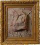 Портрет невідомої особи, 2013, килимок, олія