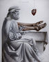 Leonardo anatom, 2013, полотно, олія, 150х120