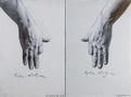 Ruka stoljara, диптих, 2013, полотно, олія