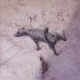 Псячий світ, 2013, полотно, цифровий друк, олія, 120х120