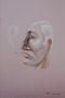 Україна. Поч. ХХІ ст. Портрет чоловіка, цифровий друк на полотні, 45х30