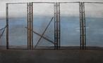Альбіна Ялоза, із серії Зона відпочинку, 2013, полотно, мішана техніка, 65х105