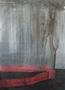 Альбіна Ялоза, Злива, із серії Земля, 2013, полотно, мішана техніка, 155х110