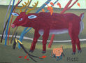 Благородний олень, 2012, полотно, олія, 86х117