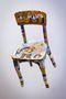 Стілець, 2013, стілець, полотно, олія, акрил