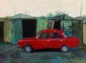 Машина дяди Коли, 2012, полотно, олія, 120х90
