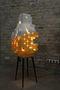 Наземне, епізод сьомий, колекція Багатоклітинні, 2012, пластик, дерево, метал, люмінесцентна лампа