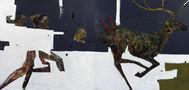 Полювання на оленя, 2011, полотно, олія