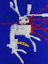 Кролик який відкусив собі голову, 2011, полотно, олія