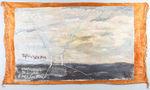 Морський пейзаж в перспективі, тонкий килимок, олія, 133х234